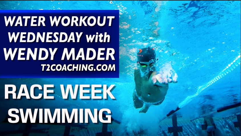 Water Workout Wednesday Race Week