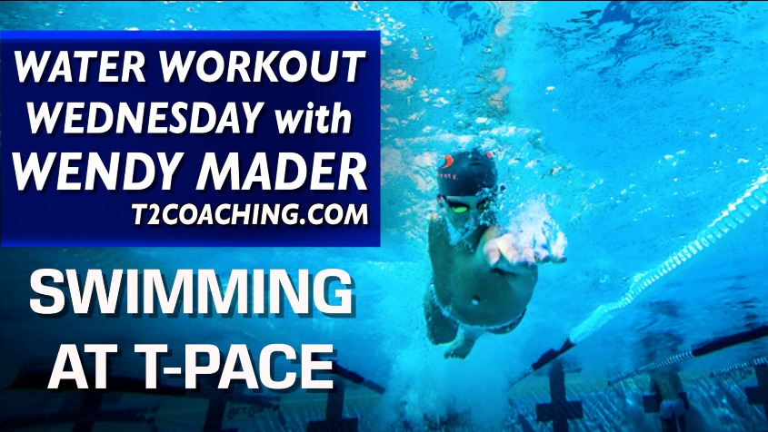 Water Workout Wednesday- T – Pace